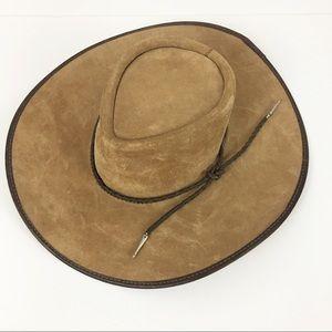 San Zeno Vintage Leather Cheyene Hat